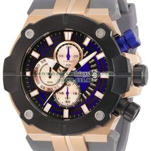Invicta Sea Hunter Stainless Steel Quartz Watch with Silicone Strap-hangxachtayshop