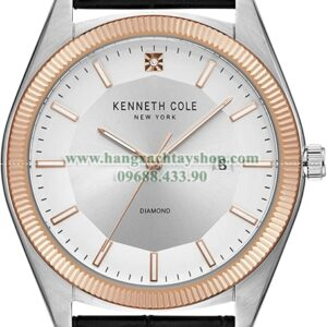 Kenneth Cole New York Classic Diamond Dial Watch-hangxachtayshop