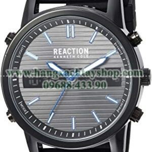 Kenneth Cole REACTION RK50549002 Quartz Metal and Silicone-hangxachtayshop