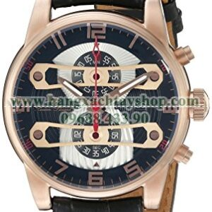 Lucien Piccard LP-40045-RG-01 Bosphorus Quartz Stainless Steel and Leather Casual-hangxachtayshop