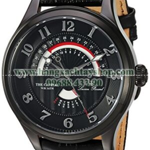 Lucien Piccard LP-40050-BB-01 The Capital Quartz Stainless Steel and Leather Casual-hangxachtayshop