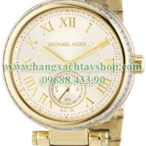 Michael-Kors-MK5867-Skylar-Champagne-Dial-Gold-tone-hangxachtayshop