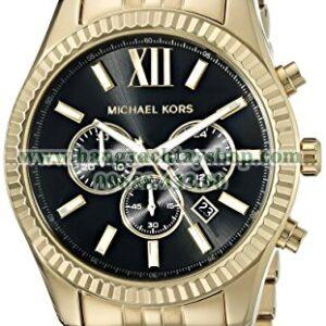 Michael Kors MK8286 Lexington Gold-Tone Stainless Steel-hangxachtayshop