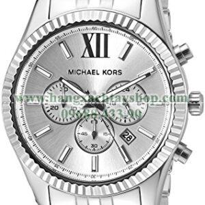 Michael Kors MK8405 Lexington Silver-Tone-hangxachtayshop
