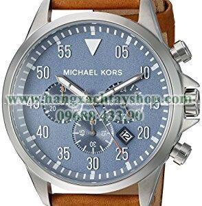 Michael Kors MK8490 Gage Silver-Tone Watch-hangxachtayshop
