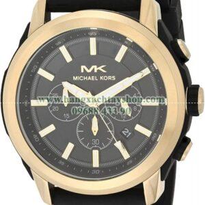 Michael Kors Stainless Steel Quartz Silicone MK8796-hangxachtayshop