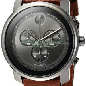 Movado 3600367 Swiss Quartz Stainless Steel and Brown Leather Casual-hangxachtayshop