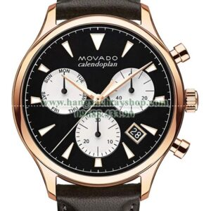 Movado 3650021 Heritage Rose Gold Chronograph with Printed Index-hangxachtayshop