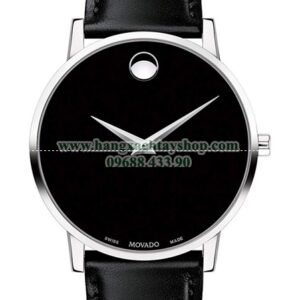 Movado 607269 Museum Stainless Steel with Concave Dot Museum Dial-hangxachtayshop