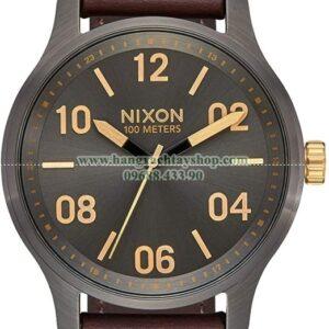 NIXON Patrol Leather Band 39mm Face-hangxachtayshop