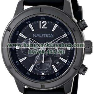 Nautica N18709G Analog Display Quartz Black Watch-hangxachtayshop