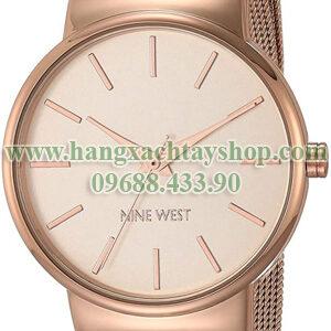 Nine-West-NW2476RGRG-Rose-Gold-Tone-Mesh-Bracelet-hangxachtayshop