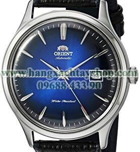 Orient 'Bambino Version IV' Japanese Automatic Stainless Steel and Leather Dress Watch-hangxachtayshop