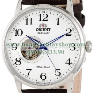Orient FDB08005W Esteem Stainless Steel Watch with Brown Leather Band-hangxachtayshop