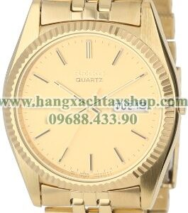 Seiko Nam SGF206 Dress Gold-Tone Watch-hangxachtayshop