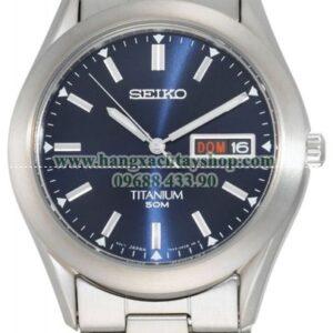 Seiko Nam SGG709 Titanium Case and Bracelet-hangxachtayshop