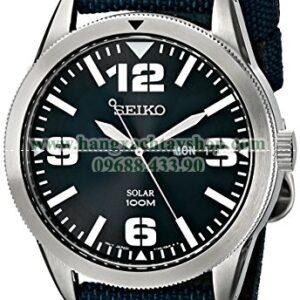 Seiko SNE329 Sport Solar-Powered Stainless Steel Watch-hangxachtayshop
