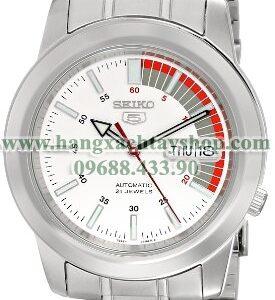 Seiko SNKK25 Seiko 5 White Dial Stainless Steel Automatic-hangxachtayshop