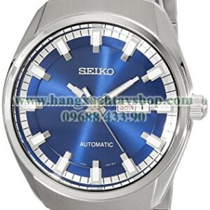 Seiko SNKN41 Analog Display Automatic Self Wind Silver Watch-hangxachtayshop