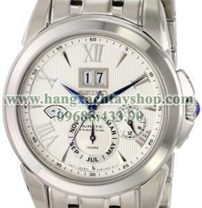 Seiko SNP065 Stainless Steel Watch with Link Bracelet-hangxachtayshop