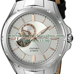 Seiko SSA313 Japanese Automatic Stainless Steel and Leather Casual Watch-hangxachtayshop