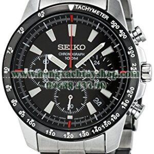 Seiko SSB031 Chronograph Stainless Steel Case Watch-hangxachtayshop