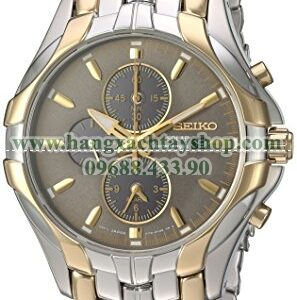 Seiko SSC138 Excelsior Two-Tone Stainless Steel Solar Watch-hangxachtayshop