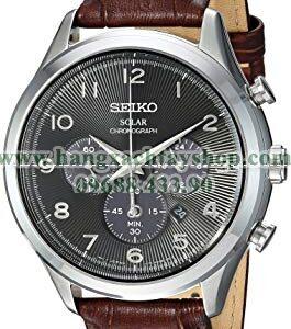 Seiko SSC565 Solar Chronograph Quartz Stainless Steel-hangxachtayshop