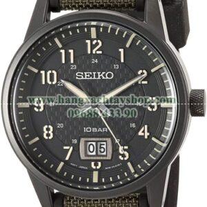 Seiko Stainless Steel Japanese Quartz Silicone SUR325-hangxachtayshop