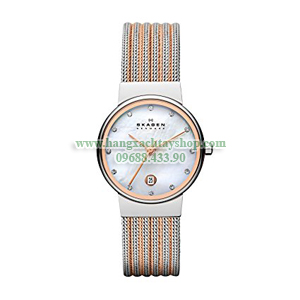 Skagen-355SSRS-Silver-And-Rose-hangxachtayshop