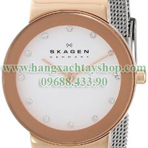Skagen-358SRSC-Freja-Two-Tone-Watch-with-Mesh-Band-hangxachtayshop