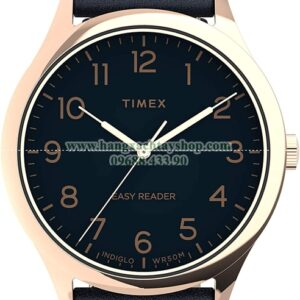 Timex Easy Reader Gen 1 40mm Quartz Leather Strap-hangxachtayshop
