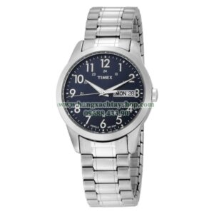 Timex Nam T2M933 Elevated Classics Dress Silver-Tone Stainless Steel-hangxachtayshop