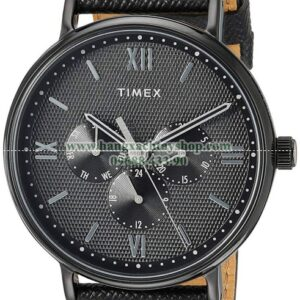 Timex Southview 41mm Multifunction Leather Strap-hangxachtayshop