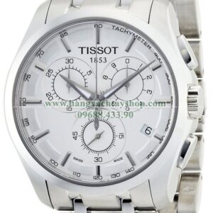 Tissot Nam TIST0356171103100 Couturier Silver Dial-hangxachtayshop