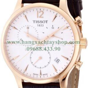 Tissot T0636173603700 Tradition Analog Display Swiss Quartz Brown Watch-hangxachtayshop