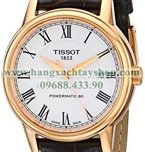 Tissot T0854073601300 Carson Analog Display Swiss Automatic-hangxachtayshop