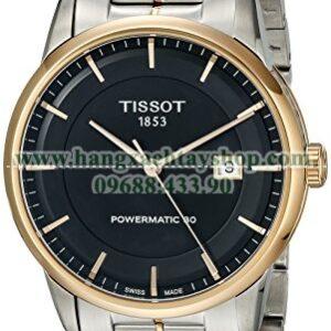 Tissot T0864072205100 Luxury Analog Display Swiss Automatic Two Tone Watch-hangxachtayshop