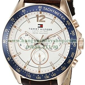 Tommy Hilfiger 1791118 Sophisticated Sport Watch with Brown Leather Band-hangxachtayshop