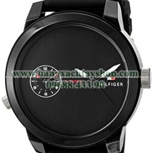 Tommy Hilfiger 1791326 'Denim' Quartz Plastic and Rubber Casual Watch-hangxachtayshop