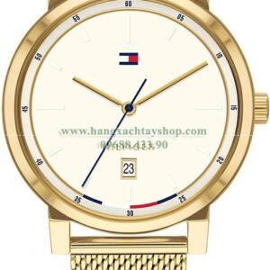 Tommy Hilfiger Quartz Watch with Gold Tone Stainless Steel Strap-hangxachtayshop