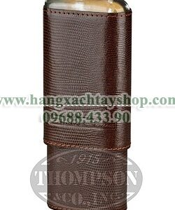 andre-garcia-3-finger-brown-leather-lizard-horn-top-case-hangxachtayshop