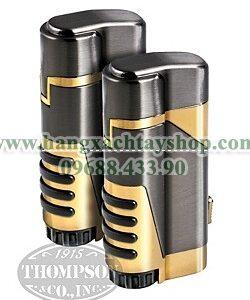 gun-metal-and-gold-dual-torch-lighter-with-cutter-2-fer-hangxachtayshop