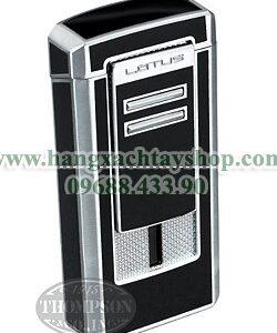 lotus-l46-commander-triple-torch-lighter-black-hangxachtayshop