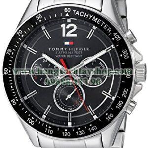 ommy Hilfiger 1791104 Sophisticated Sport Analog Display Quartz Silver Watch-hangxachtayshop