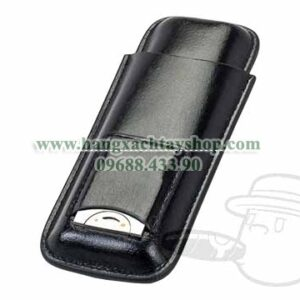 2-Cigar-Black-Case-With-Cutter