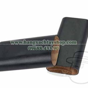 60-Ring-Pebble-Grain-Black-Leather-Churchill-3-Cigar-Travel-Case-By-Craftsman's-Bench