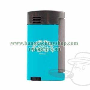 H-Upmann-Nicaragua-Single-Flame-Lighter-Blue&Gunmetal