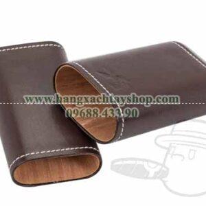 Xikar-Envoy-Leather-Telescopic-Cigar-Case-Cognac