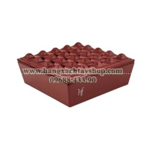 hf-melamine-grid-ashtray-red